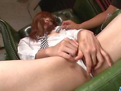 Luscious Mami Yuuki craves to suck on this big dick
