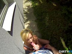 Dirty Flix - Iren - Casual cock riding outdoors