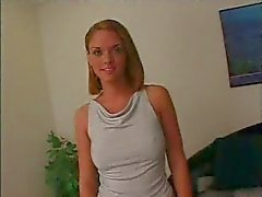 Casting blonde teen