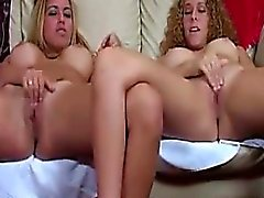 Two young women masturbate and give directions are jerked o