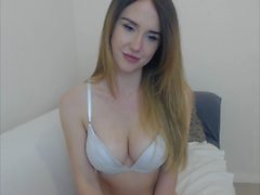 Petite Teen Skinny Cam Girl Plays P1