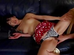 Asian slut Miki getting licked and fucked