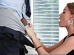 Skinny Kacy Lane Rides Big Black Cock