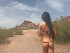 Kimber Veils gets Naked in Public at Arizona Park Kimber Veils 720p