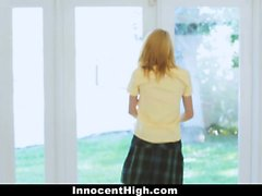 InnocentHigh - Teen Skips School and Fucked By Principal