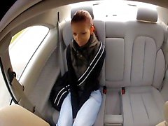 FakeTaxi Young student fucks for cash on her journey