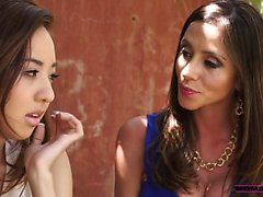 Mila Jade takes advice from Ariella Ferrera to improve her
