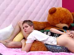 Blonde teen mckenzie miles hot pov blowjob