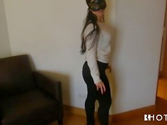 HOTGOLD Casting a Portuguese Fetish Teen