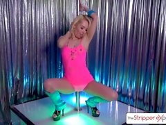 Beautiful blonde fucked hard, Aaliyah Love - The Stripper Experience