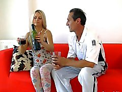 old man young girl - Hot Beauty with Old Teacher