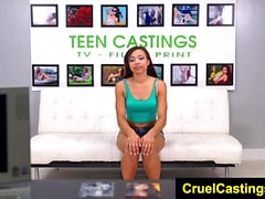FetishNetwork Adrian Maya hot teen bound and fucked hard