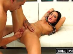 Sabrina Banks Endures BDSM & Rough Sex on the Casting Couch