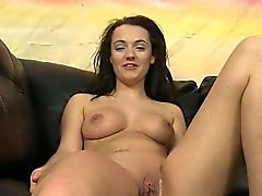Teen Charlotte Oryan Gets Naked And Fingers Her Pussy