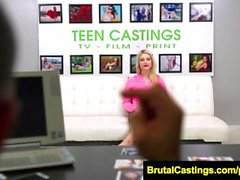 FetishNetwork Aubrey Gold endures bdsm casting audition