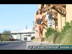 Kennedy Dress and Heels Public Nudity Ftv