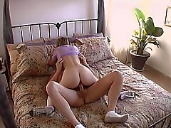 Teen in nylons pounded