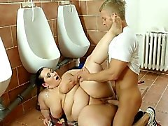 Young dude dominated by mature bbw jitka