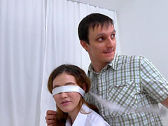 Trick Your GF - Gisha Forza - Stranger fucks blindfolded gf