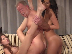 Sex Competition - Oldje3some - Boris , Gisha Forza, Alexi S
