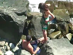 Hot teen get hardcore sex outdoor