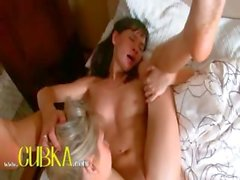 Girl erotica better with huge doubletoys