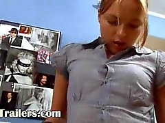Ivana babysitter goes anal at office