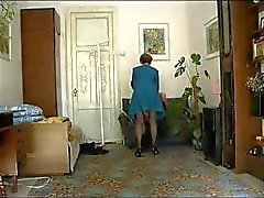 Homemade mature Milf has sex with a young stud