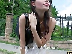 Outdoors sex is what makes her horny