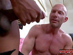 Young stepfather surprise cumshot
