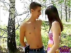 Sex In The Summer Forest russia teen amateur teen cumshots swallow dp anal