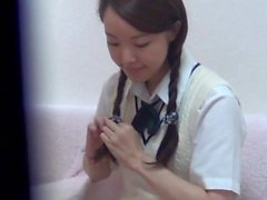 Japanese student rubbing