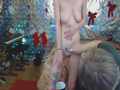 Old Man Lee Shaves Young Woman Roxy's Pussy